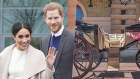 Svatba Harryho a Meghan: Už jim leští kočár!