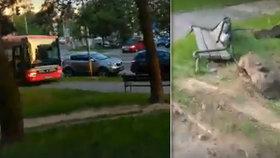 """Bratislavou se řítil """"autobus duchů"""". Prázdné vozidlo zdecimovalo ulici!"""