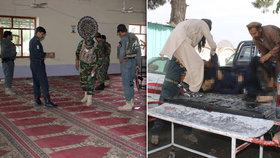 V mešitě vybuchla nálož: Přes 17 mrtvých po explozi v Afghánistánu