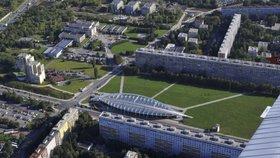 Parkoviště v Lovosické se stěhuje o kus dál. Udělá místo rozšiřujícímu se parku Přátelství