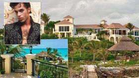 Luxusní karibské sídlo zesnulého zpěváka Prince (†57) jde do dražby