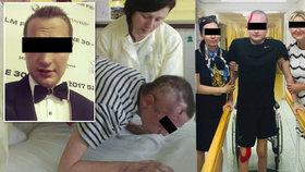 Tomáš se na Vánoce zřítil v Tatrách a přišel zde o sestru: Teď ukázal, jak ho nehoda poznamenala