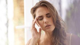 Trápí vás bolest hlavy? Zbavte se jí během pár minut