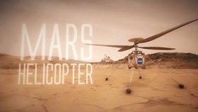 NASA vyšle na Mars první vrtulník. Jeho rotory musí být 10x rychlejší než pozemské