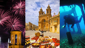 Malta: Ostrov mimo čas a prostor vybízí k romantice i ochutnávkám specialit