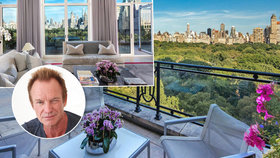 Sting prodal luxusní byt v New Yorku! Koupila si ho známá miliardářka