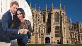 Harmonogram svatby Harryho a Meghan: Hosté přijdou o mobily, hostinu platí ženich