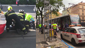 Tramvaj srazila dva chodce u I. P. Pavlova! Oba zemřeli