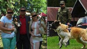 Krvavý útok na psí výstavě: Božena tahala psa ze spárů bestie, zachránit se ho nepodařilo