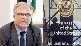 Palestinci stahují z Česka velvyslance. Jako odvetu za oslavnou recepci v Izraeli