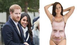 Nejšílenější suvenýry královské svatby: Plavky s Harrym i kroužek na penis!