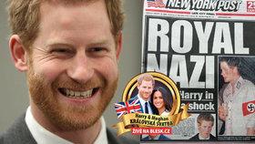 Zlobivec, ale oblíbenější než královna! Kouzlo Harryho na Brity funguje