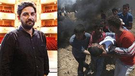 """""""Páchají násilí a mlčí."""" Režisér kvůli mrtvým Palestincům bojkotuje festival v Izraeli"""