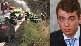 """S """"mokrým"""" řidičákem zabil dva lidi: Mladík si za nehodu odsedí rok, řídit nesmí deset let"""