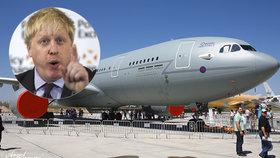 """Šéf britské diplomacie chce své brexitové letadlo. A řeší """"týpky tvrdé jako křemen"""""""