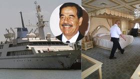 Luxusní loď obávaného diktátora nikdo nechce: Ze Saddámovy jachty bude hotel!
