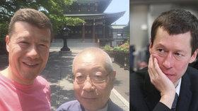 """Okamurům zemřel otec, bratři odložili spory. """"Drželi jsme ho za ruce,"""" vzkázal Hayato"""