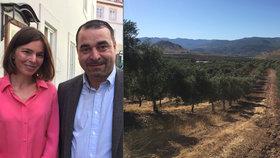 Cesta Evy (38) a Carlose (39) za olivovým olejem: Láska, chléb na náplavce a odvaha