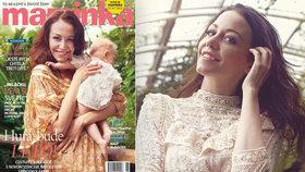 Agáta Prachařová si konečně dala říct: První fotky s miminkem!