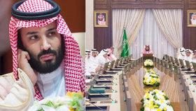 Palác hasí pomluvy o atentátu na korunního prince, o zatýkání aktivistek ale mlčí
