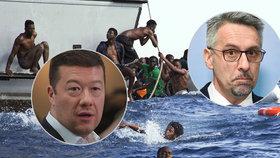 Migranti z Afriky rozvášnili poslance. Česko nemá problém, klidnil ministr okamurovce