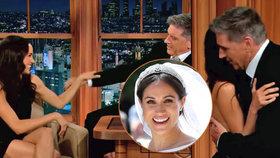 Harry, viděl jsi to? Meghan nechala moderátora, aby si sáhnul!