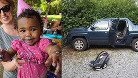 Otec zapomněl adoptované dítě v autě: Holčičku (†1) zabilo vedro