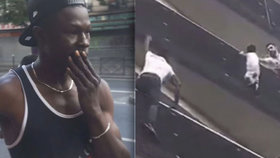 Drama v Paříži: Dítě visící z balkónu zachránil přistěhovalec bez dokladů! Vyšplhal 4 patra