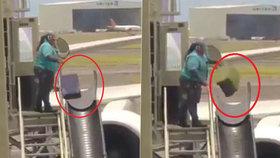 Šílené video: Tohle se děje s vašimi kufry po odbavení!