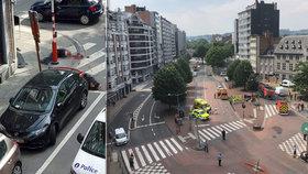 Zabil dva policisty a chodce, uklízečku vzal jako rukojmí. Útočníka v Belgii zastřelili