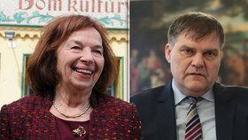 Klausová si užívá vnoučat a plánuje Vary. Zamíří do Bratislavy Zemanův muž?