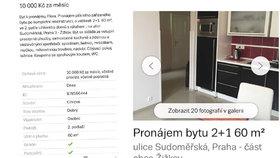 Podvodníci v Praze lákají na byty za hubičku: Shrábnou peníze a už se neozvou