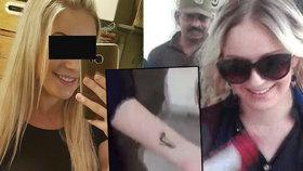 Pašeračka Tereza (22) si v kriminále pořídila tetování! A od soudu volala domů
