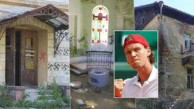 Tenista Berdych se zbavil ruiny Jánských Koupelí: Rekonstrukci za půl miliardy zastavil koronavirus