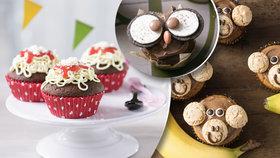 Den dětí je tu! Upečte jim k svátku veselé muffinky!