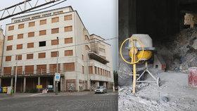 Palác Svět z Elsnicova náměstí je zřejmě zachráněn: »Hrabalův« automat se (konečně) opravuje!