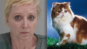 Žena zastřelila svého manžela (†49), protože jí bil kočku