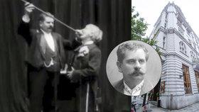 Zlatník, který Praze představil kino: Viktor Ponrepo se narodil před 160 lety
