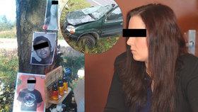 Tři roky za tři mrtvé kamarády! Řidičku Simonu (20) poslal soud za mříže
