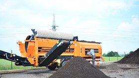Hnojivo za bioodpad? První pražská kompostárna nabízí výhodnou směnu