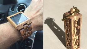 """Zloděj se """"dobře napakoval"""". Z luxusního auta ukradl hodinky a další věci za skoro šest set tisíc korun"""