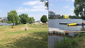 Vodní postel i motorové čluny: Žluté lázně připravily na léto spoustu novinek, plavecký bazén neplánují