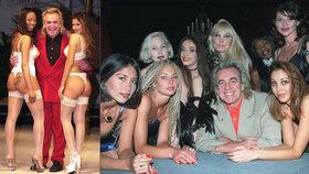 Zemřel okázalý »král nočních klubů«: V posteli měl více než 2000 žen!