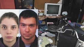 Dům hrůzy: Rodiče nechali doma 6 dětí a odjeli do zahraničí