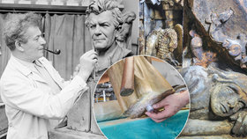 Staroměstská radnice vydala své tajemství: Vzkaz na truc úředníkům a 700 let staré sochy