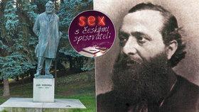 """Postelový suchar Jan Neruda? Ženy miloval jen přes """"sextovky"""""""