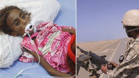 Začal boj o hlavní přístav jemenských povstalců. Smrt hrozí čtvrt milionu civilistů