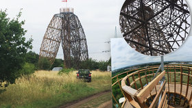 Unikát na Černém Mostě: Rozhledna z akátu a oceli se zapíše do dějin i do paměti návštěvníků