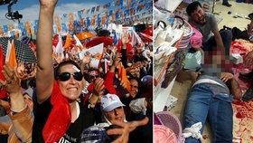 Bratr poslance zemřel při přestřelce. Násilí před volbami v Turecku eskaluje