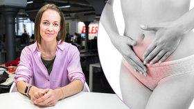 Silná menstruace trápí v práci tisíce Češek. Od křečí uleví i orgasmus, radí Petra